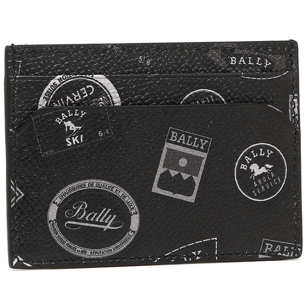 バリー カードケース メンズ BALLY 6218348 ブラック