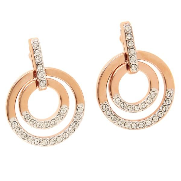 Swarovski pierced earrings accessories lady s SWAROVSKI 5349204 Rose gold  clear 4289e6f9dc2b