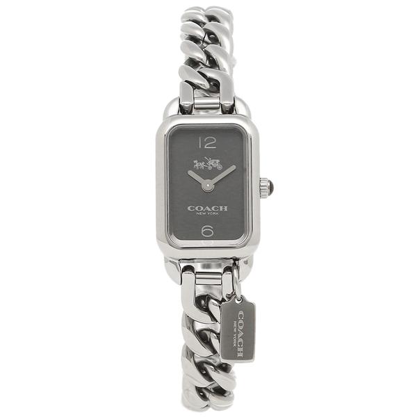 【4時間限定ポイント5倍】コーチ 腕時計 レディース COACH 14502722 シルバー ブラック