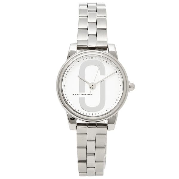 【2時間限定ポイント10倍】マークジェイコブス 腕時計 レディース MARC JACOBS MJ3562 シルバー ホワイト