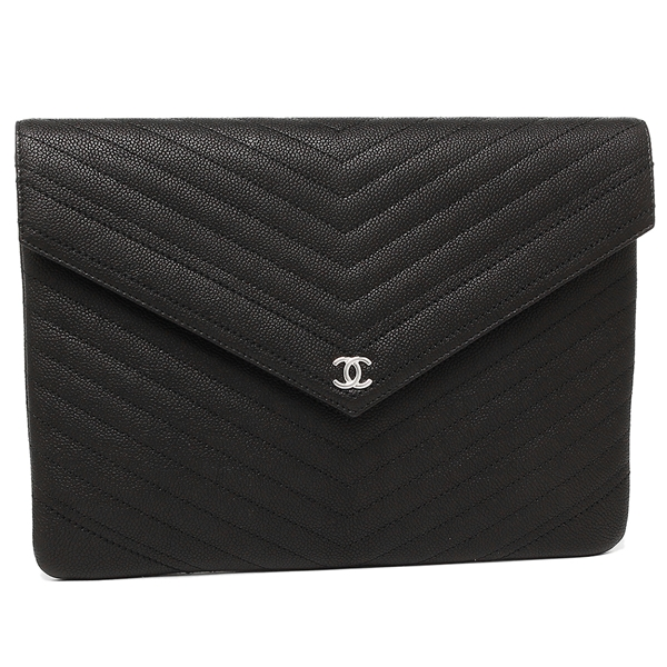 e02b34ebc35cc6 Brand Shop AXES: Chanel clutch bag Lady's CHANEL A84355 Y33119 94305 ...