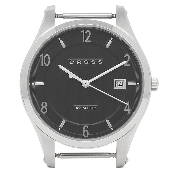 【返品OK】クロス 腕時計フェイス メンズ/レディース CROSS CR8036-01 ブラック シルバー
