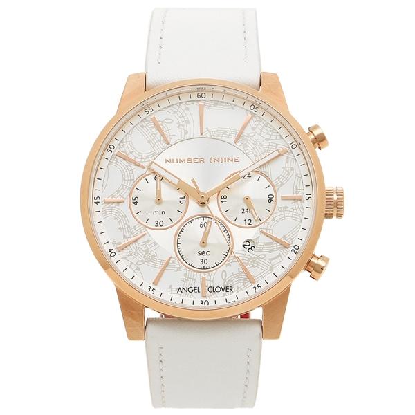エンジェルクローバー 腕時計 メンズ ANGEL CLOVER NNC42PWH WH ホワイト ピンクゴールド