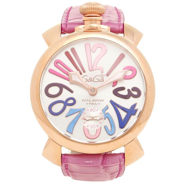 【2時間限定ポイント10倍】ガガミラノ 腕時計 メンズ GAGA MILANO 5011.09 PUR パープル シルバー ローズゴールド