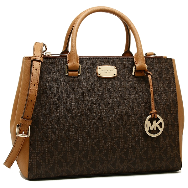 Michael Kors Tote Bag Outlet Lady S 35s7gsos2b Brown