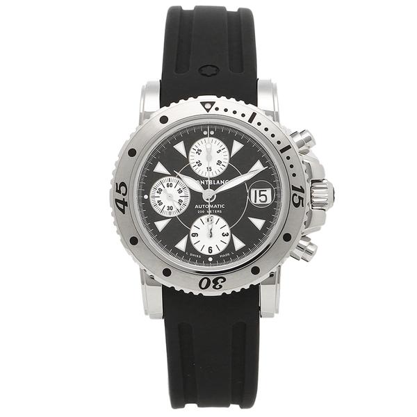 【30時間限定ポイント5倍】モンブラン 腕時計 メンズ MONTBLANC 101657 シルバー ブラック