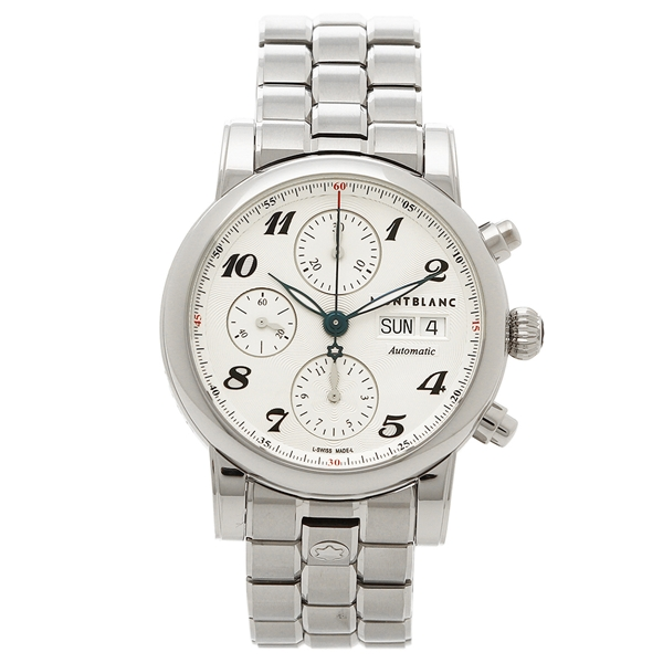モンブラン 腕時計 メンズ MONTBLANC 106468 シルバー