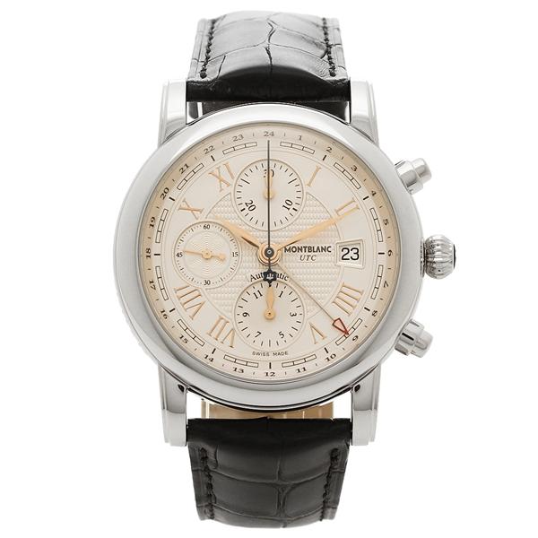【2時間限定ポイント10倍】モンブラン 腕時計 メンズ MONTBLANC 113880 シルバー ホワイト ブラック