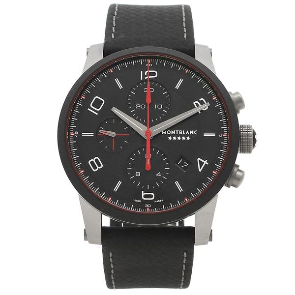 【2時間限定ポイント10倍】モンブラン 腕時計 メンズ MONTBLANC 115359WHT シルバー ブラック