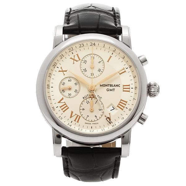 【2時間限定ポイント10倍】モンブラン 腕時計 メンズ MONTBLANC 36967 シルバー ホワイト ブラック