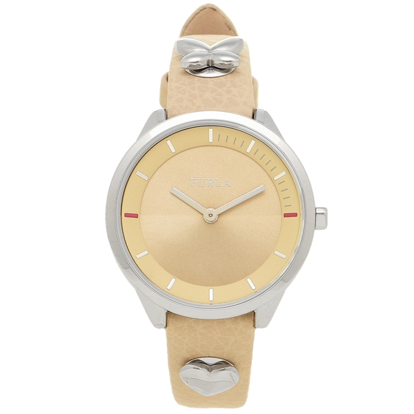 【返品OK】フルラ 腕時計 レディース FURLA R4251102540 944447 W504 VIT G04 AF0 ベージュ シルバー
