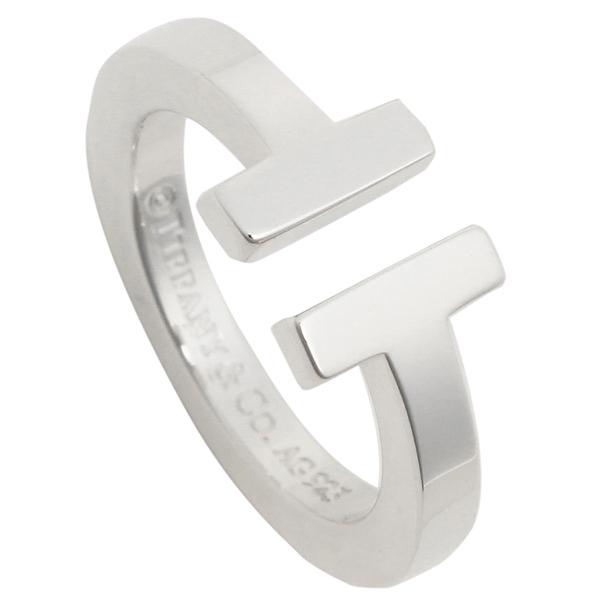 【4時間限定ポイント10倍】ティファニー リング アクセサリー TIFFANY&Co. Tスクエア T SQUARE RING レディース 指輪 シルバー