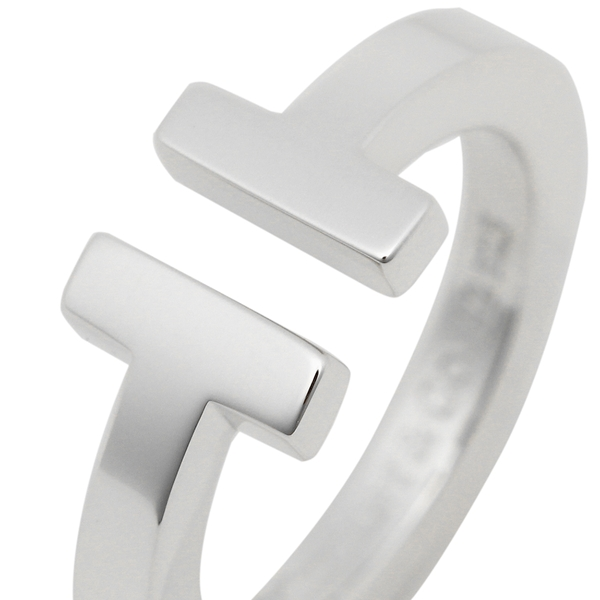9bb27b2ec ティファニーリングアクセサリーTIFFANY&Co.TスクエアTSQUARERINGレディース指輪シルバー