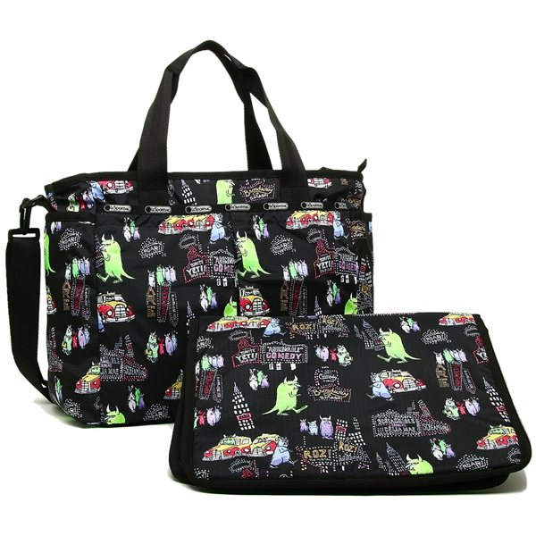 Reply Port Case Mothers Bag Lady Lesportsac 7532 P545 Monsters Inc