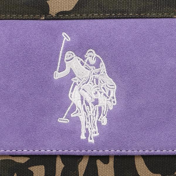 cadb401b89 ... US polo tote bag Lady s US POLO ASSN USPA-2504 camouflage purple