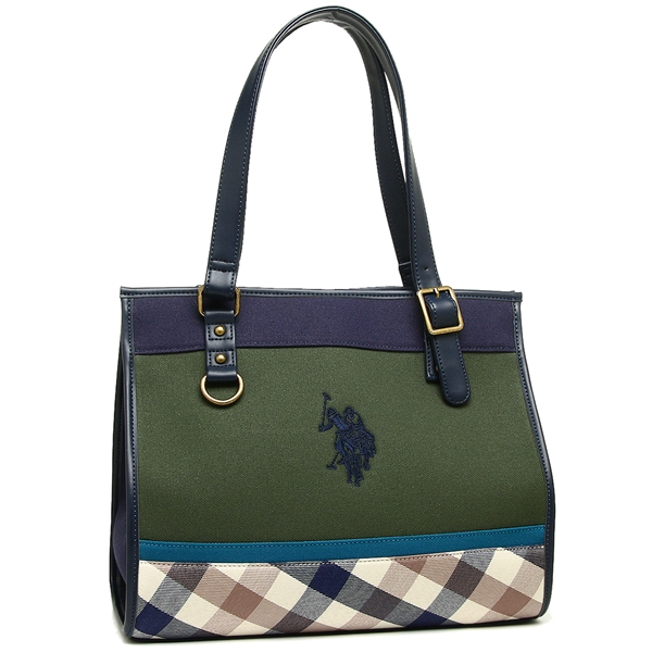 a2d2d395c0 Brand Shop AXES  US polo tote bag Lady s US POLO ASSN USPA-2507 navy ...