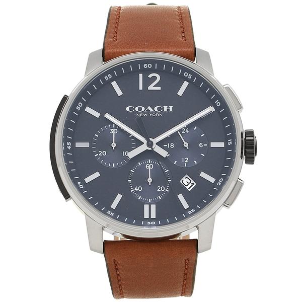 コーチ 腕時計 メンズ COACH 14602015 ブラウン シルバー ブルー