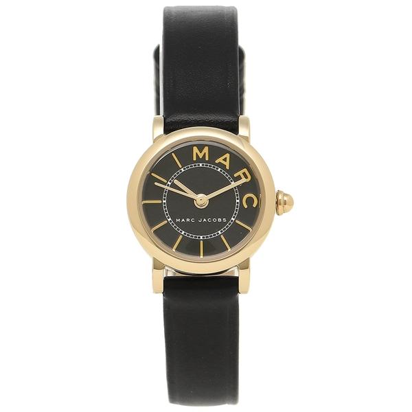 【24時間限定ポイント5倍】マークジェイコブス 時計 レディース MARC JACOBS MJ1585 ブラック イエローゴールド