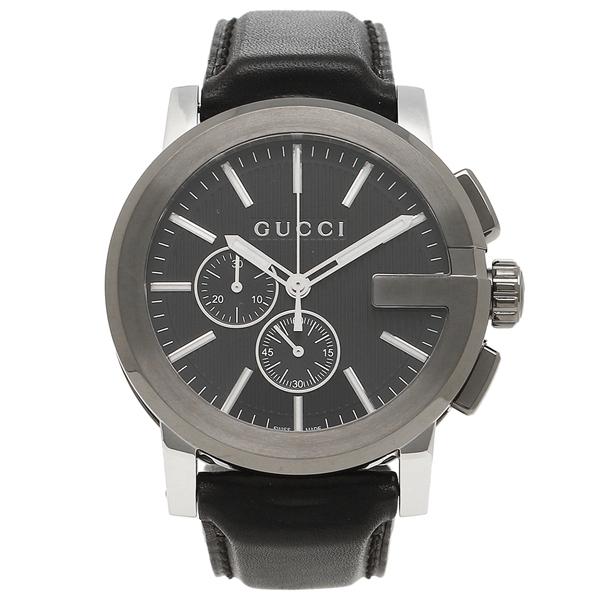 グッチ 腕時計 メンズ GUCCI YA101205 ブラック