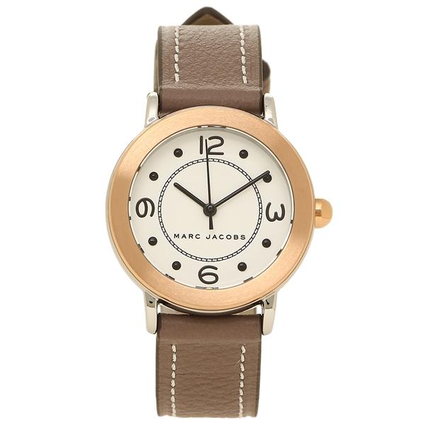 【4時間限定ポイント5倍】マークジェイコブス 腕時計 レディース MARC JACOBS MJ1605 ブラウン イエローゴールド ホワイト