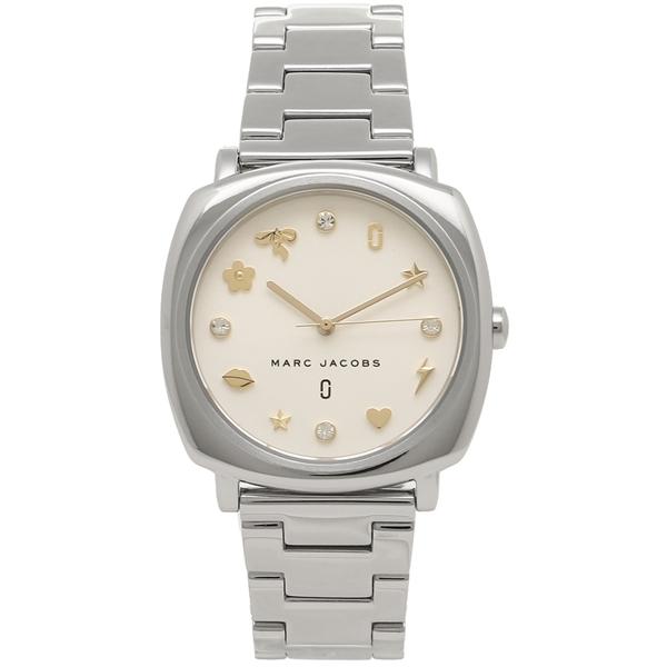 【2時間限定ポイント10倍】マークジェイコブス 腕時計 レディース MARC JACOBS MJ3572 シルバー