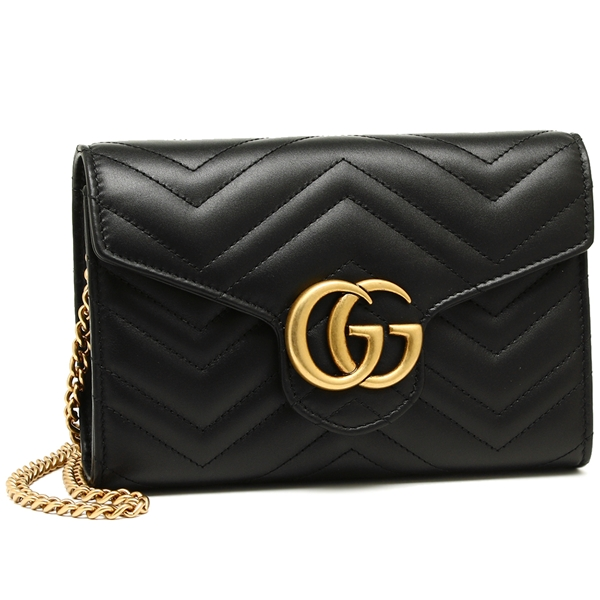 2cdc2a4e017 Brand Shop AXES  Gucci shoulder bag Lady s GUCCI 474575 DRW1T 1000 ...