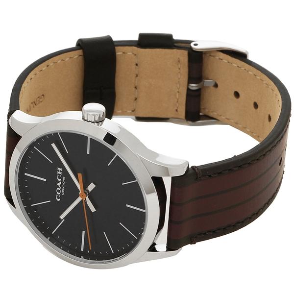 192c3957eac4 COACH W1545 DDO アウトレット コーチ メンズ 腕時計 シルバー マルチカラー 【10%OFFクーポン対象】 ブラウン