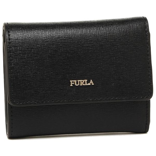 【24時間限定ポイント5倍】フルラ 折財布 レディース FURLA 928985 PU04 B30 O60 ブラック