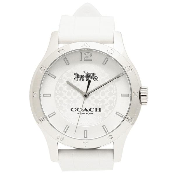 【2時間限定ポイント10倍】コーチ 腕時計 レディース COACH 14502218 ホワイト シルバー