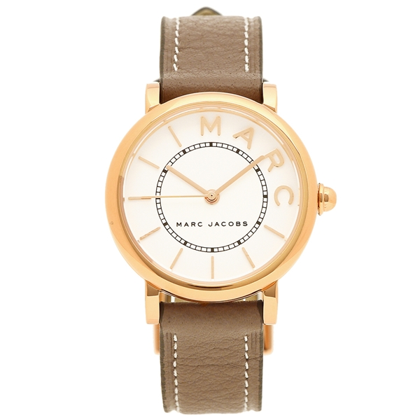 【4時間限定ポイント10倍】マークジェイコブス 腕時計 レディース MARC JACOBS MJ1538 グレーベージュ ホワイト
