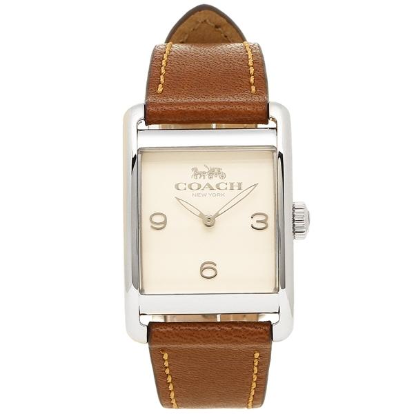 コーチ 腕時計 レディース COACH 14502829 ブラウン アイボリー