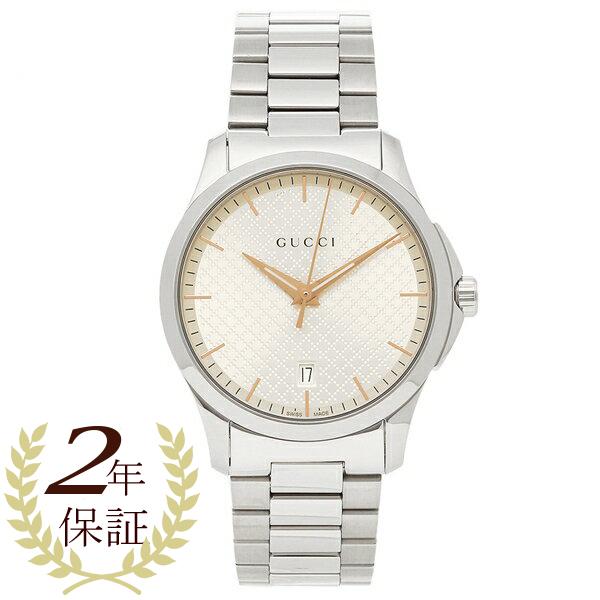 グッチ 腕時計 メンズ GUCCI YA1264052 シルバー