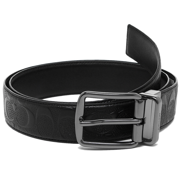 53cd4cf17c90 Brand Shop AXES  Coach belt outlet Lady s COACH F55157 BLK black ...