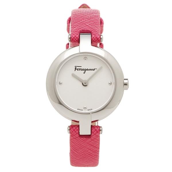【2時間限定ポイント10倍】フェラガモ 腕時計 レディース Salvatore Ferragamo FAT010017 シルバー ピンク