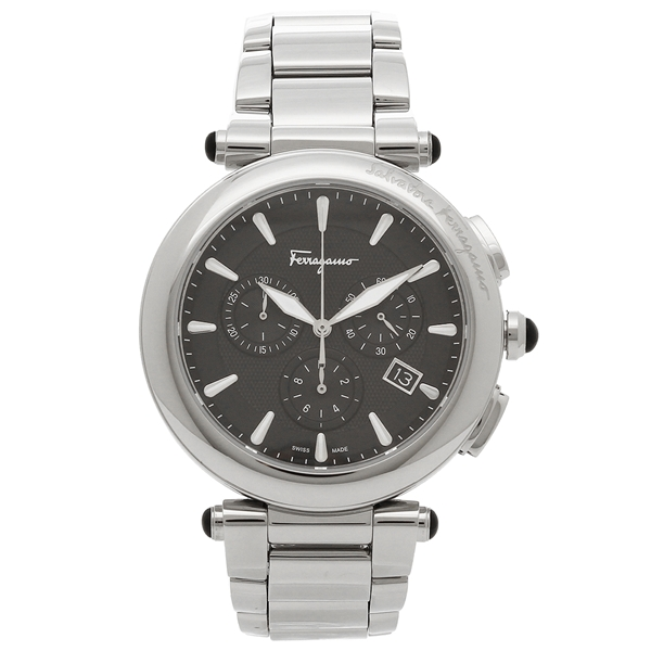 【返品OK】フェラガモ 腕時計 メンズ Salvatore Ferragamo FCP070017 シルバー ブラック