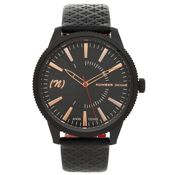エンジェルクローバー 腕時計 メンズ ANGEL CLOVER NN42PG-BK ブラック レッド