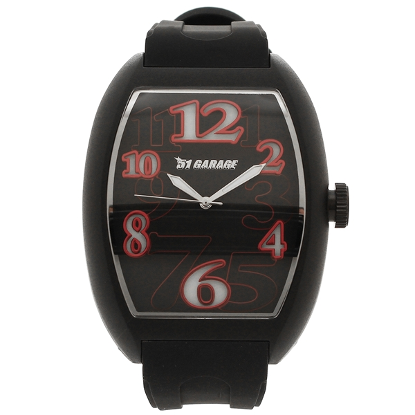 ゾンネ 腕時計 メンズ SONNE H020BK-RD ブラック レッド