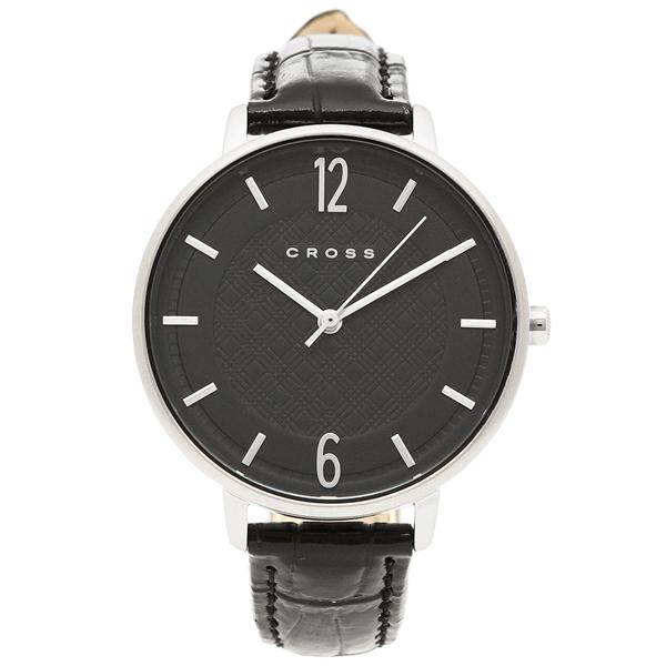 【4時間限定ポイント10倍】【返品OK】クロス 腕時計 レディース CROSS CR9053-01 ブラック