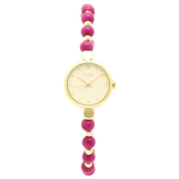 【2時間限定ポイント10倍】ローラローズ 腕時計 レディース Lola Rose LR4020 ピンク シャンパンゴールド