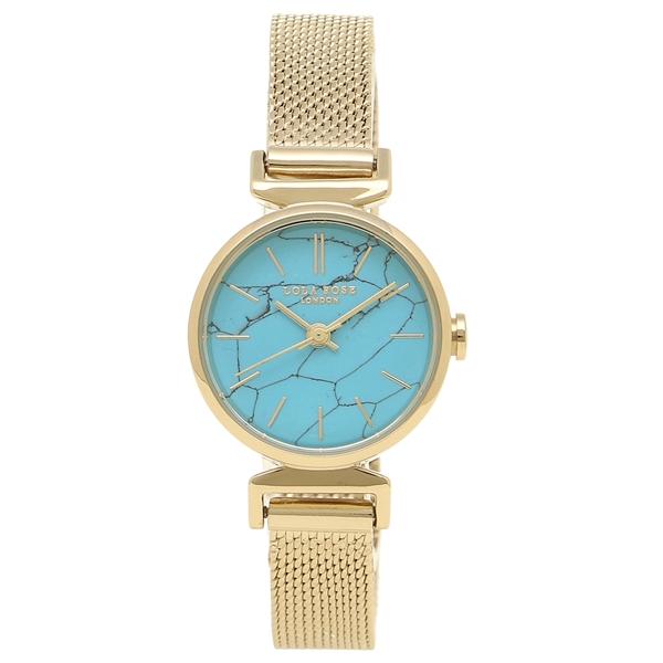 【2時間限定ポイント10倍】ローラローズ 腕時計 レディース Lola Rose LR4050 ブルー イエローゴールド