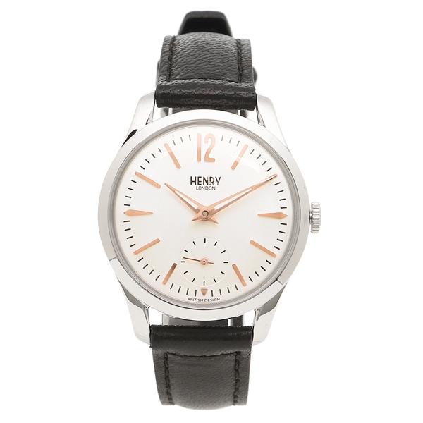 【2時間限定ポイント10倍】ヘンリーロンドン 腕時計 レディース HENRY LONDON HL30US0001 シルバー ブラック