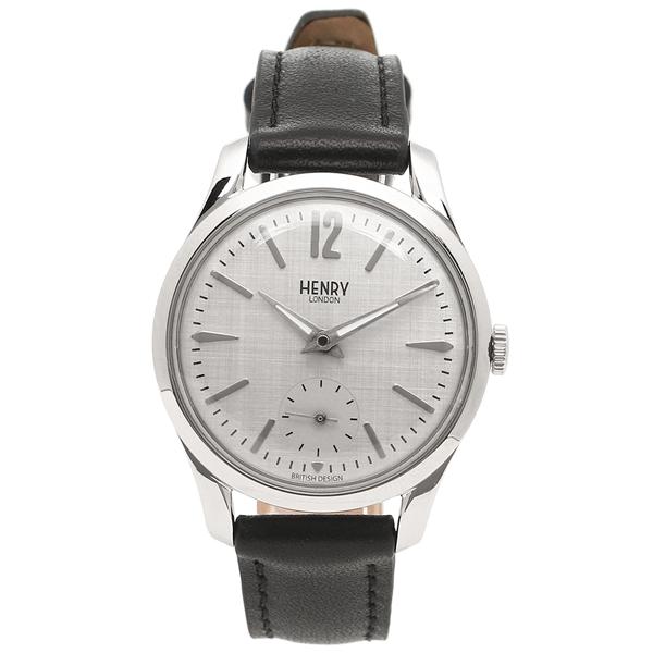 【4時間限定ポイント5倍】ヘンリーロンドン 腕時計 レディース HENRY LONDON HL30US0073 グレー ブラック