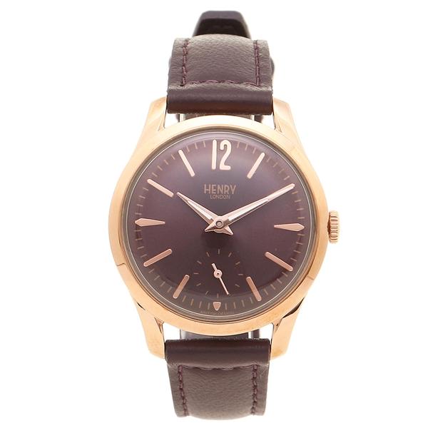 【24時間限定ポイント5倍】ヘンリーロンドン 腕時計 レディース HENRY LONDON HL30US0076 パープル ピンクゴールド