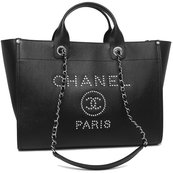 747517a770b Brand Shop AXES  Chanel tote bag Lady s CHANEL A57067 Y83441 94305 black