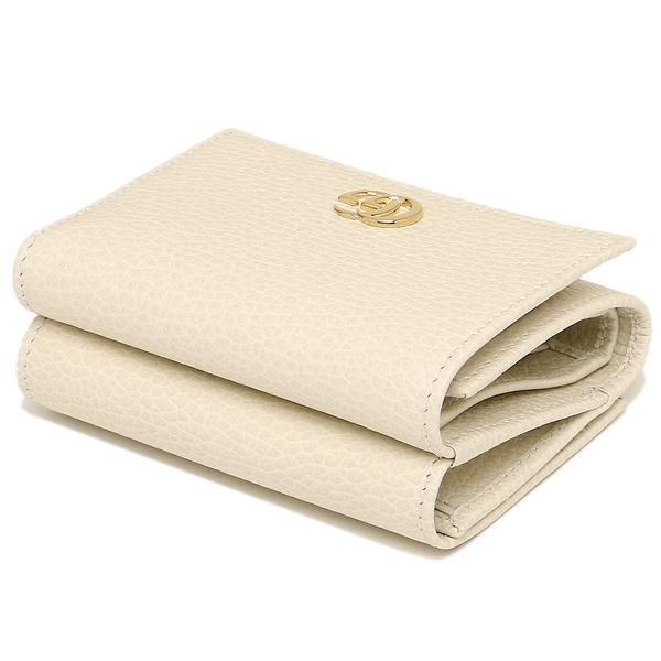superior quality 20b2d 50cbd Gucci fold wallet Lady's GUCCI 474746 CAO0G 9022 white