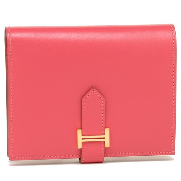 エルメス 折財布 レディース HERMES H051343CC U5 ピンク