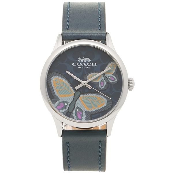 コーチ 腕時計 レディース アウトレット COACH W1546 NV/NV ネイビー