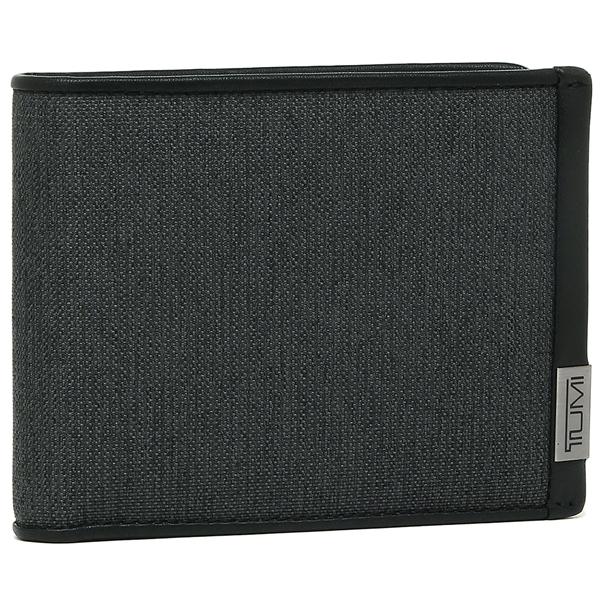 【4時間限定ポイント10倍】トゥミ 折財布 メンズ TUMI 119237 ATD ブラック