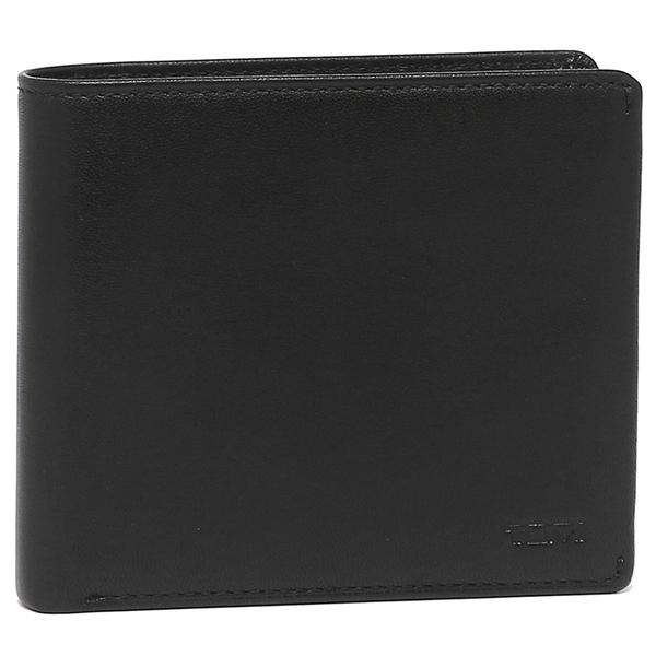 【4時間限定ポイント10倍】トゥミ 折財布 メンズ TUMI 126144 D ブラック