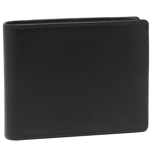 【2時間限定ポイント10倍】トゥミ 折財布 メンズ TUMI 126145 D ブラック